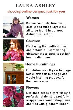 Laura Ashley Online Store - Free Shipping