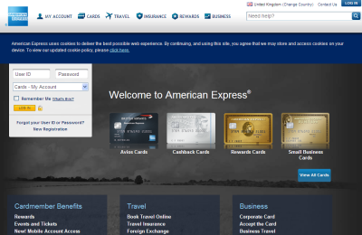 Official American Express UK Website