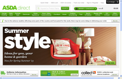 Official Asda UK Website