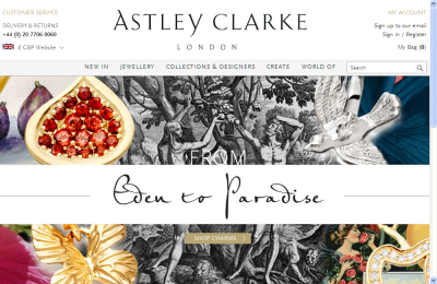 Official Astley Clarke UK Website