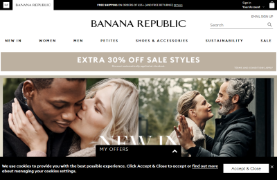 Official Banana Republic UK Website