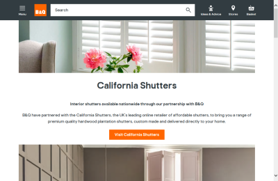 Official B&Q Shutters UK Website