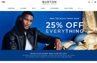 Official Burton UK Website
