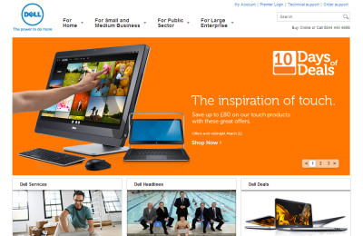 Official Dell Computers UK Website