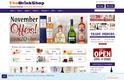 Official The Drink Shop UK Website