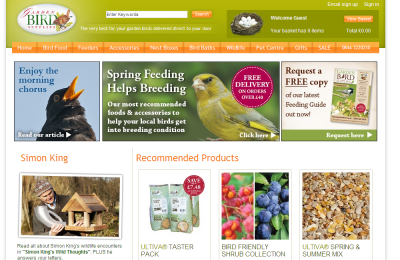Official Garden Bird Supplies UK Website
