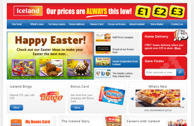 Official Iceland Frozen Food UK Website