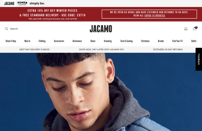 Official Jacamo - Menswear UK Website