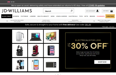 Official JD Williams UK Website