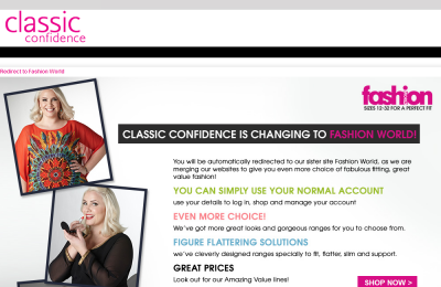Official Classic Confidence UK Website