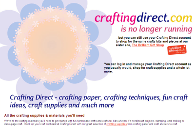 Official Crafting Direct UK Website