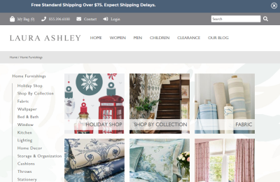 Official Laura Ashley UK Website