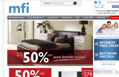 Mfi furniture store uk buy direct from mfi furniture for Furniture buy now pay later