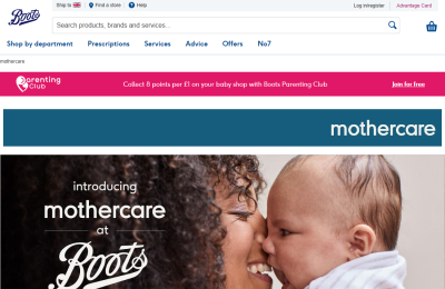 Official Mothercare UK Website