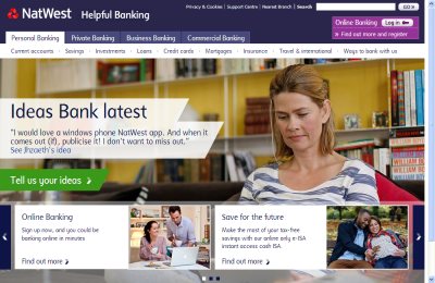 Official NatWest UK Website