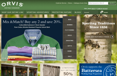 Official Orvis UK Website