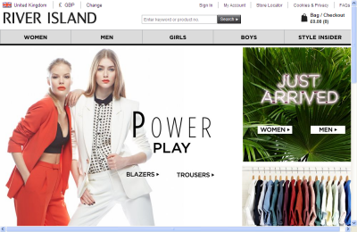 Official River Island UK Website