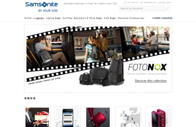 Official Samsonite UK Website