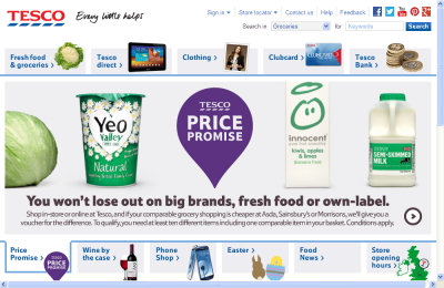 Official Tesco Groceries UK Website