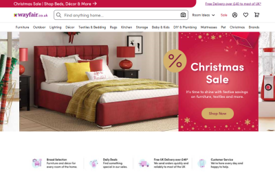 Official Wayfair UK Website